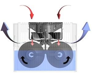 Venta LW15 мойка воздуха увлажнитель-очиститель